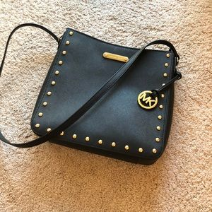 Michael Kors Jet Set  Saffiano Messenger Bag